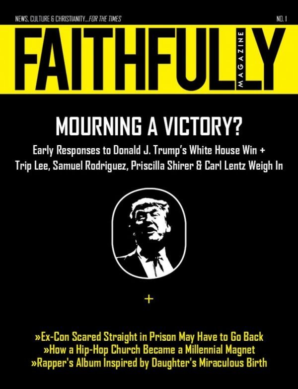 Cover of Faithfully Magazine Issue No 1