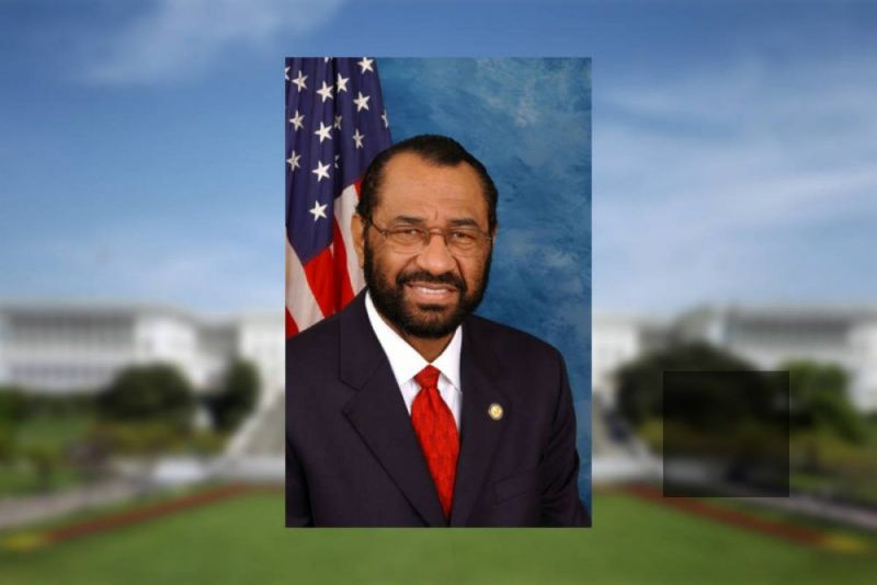 U.S. Rep. Al Green, Democrat representing Houston, Texas