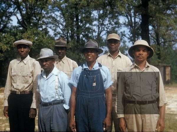 Photograph of participants in the Tuskegee Syphilis Study, which began in 1932 and ended with national exposure in 1972. (Photo: National Archives Catalog)
