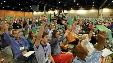 Southern Baptist Convention messengers overwhelmingly pass a resolution June 14 condemning the racism of the alt-right movement