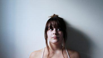 contemplative young woman spiritual