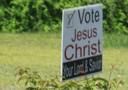 evangelicals vote