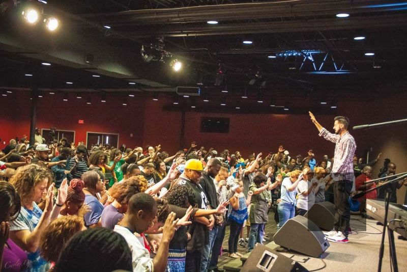Crossover Church in Tampa, Florida, led by Tommy Urban D. Kyllonen