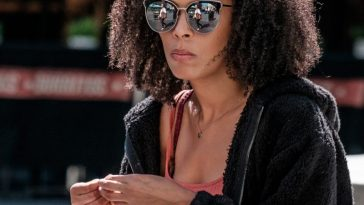 black woman hair
