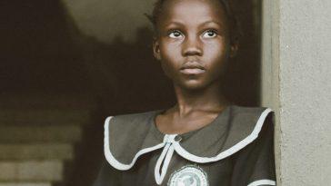 File photo of a school girl in Liberia