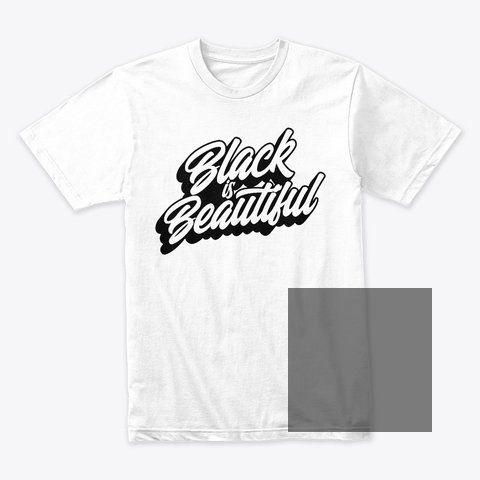 black is beautiful tshirt by faithfully magazine