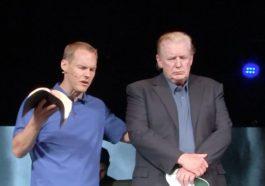 david platt prays for donald trump