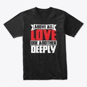 love one another tee by faithfully magazine