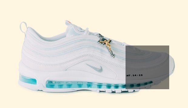 MSCHF Jesus Shoes are Nike Air Max 97