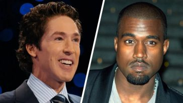 Josel Osteen Kanye West friends