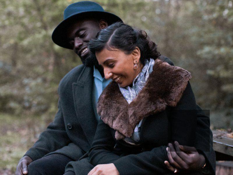 Michael Akinsulire and Asmara Gabrielle in I Am Joseph