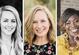 Briana Stensrud, Heather MacFayden, and Latasha Morrison