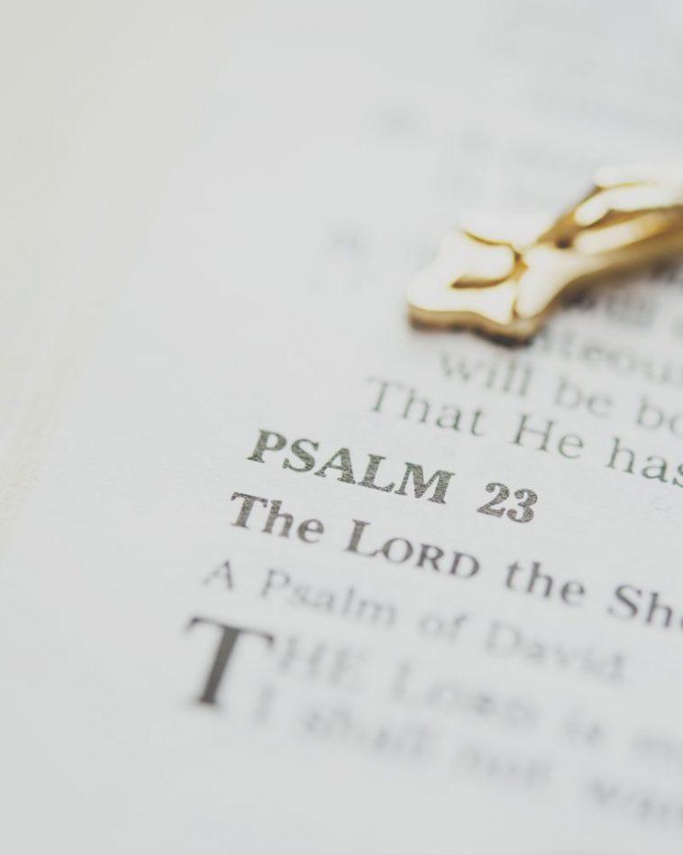 Bible Psalm 23