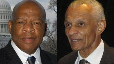 Rep. John Lewis and Cordy Tindell C.T. Vivian