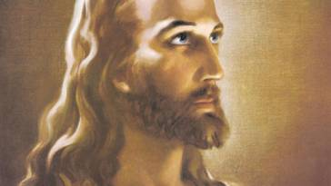 Warner Sallman's Head of Christ painting