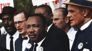 Martin Luther King Washington March 1963