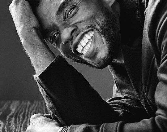 Chadwick Boseman has died