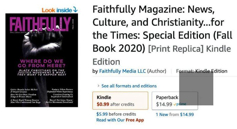 Buy Faithfully Magazine on Amazon
