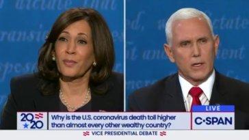 vice presidential debate kamala harris mike pence