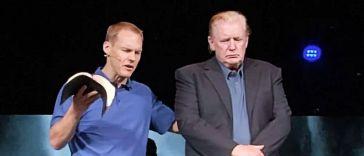 Pastor David Platt prays for President Donald Trump