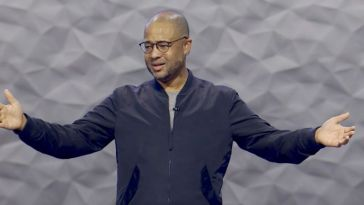 The Rev. Bryan Loritts preaches at The Summit Church