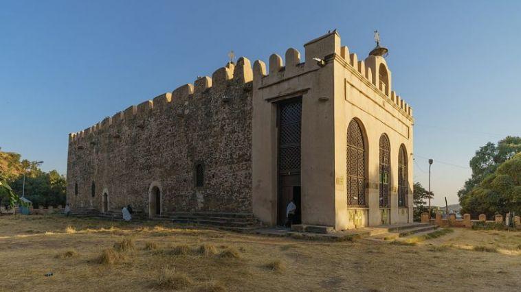 Church of Saint Mary of Zion in Aksum, Tigray Region, Ethiopia