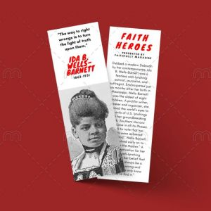 ida b wells bookmark