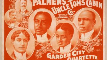 uncle tom's cabin vaudeville poster