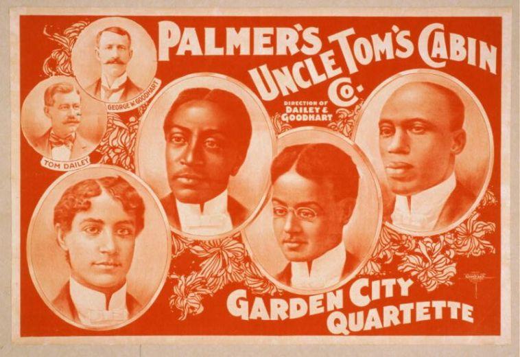 uncle tom's cabin vaudeville poster