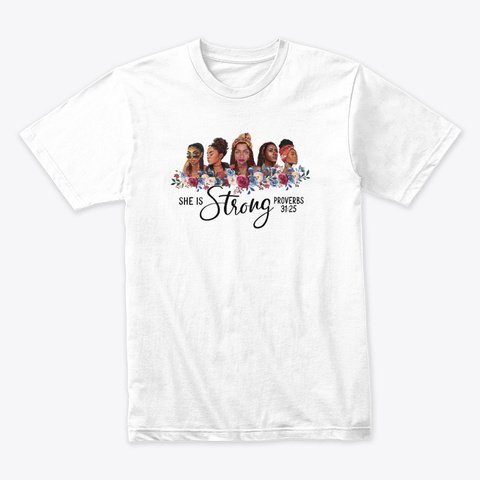 she is strong teespring